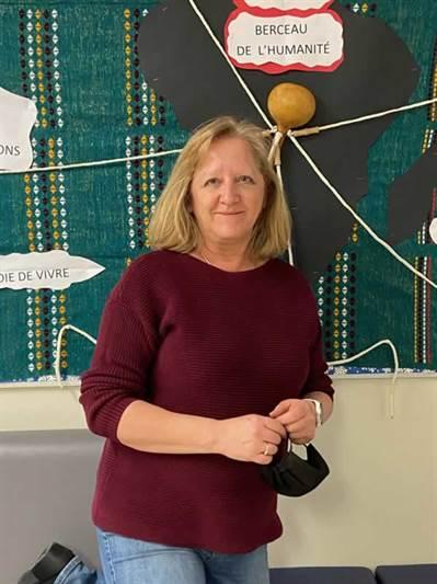 Donna Lajeunesse, directrice de l'école du Parc à Regina