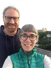 Dominique Ferraton et son mari