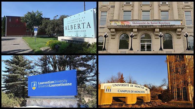 Quatre institutions