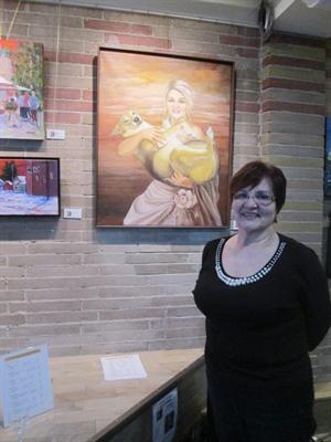 Mary-Ann Dubé, présidente d'Art X 9.
