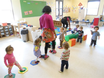 Salle éducation en action au Centre éducatif Gard'Amis